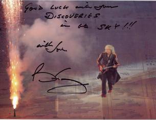 Today Brian May celebrates his birthday