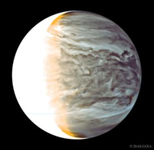 Night on Venus in Infrared from Orbiting Akatsuki