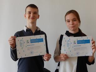 Московские участники проекта «Открытие за неделю» - победители Всероссийского юношеского научного ко