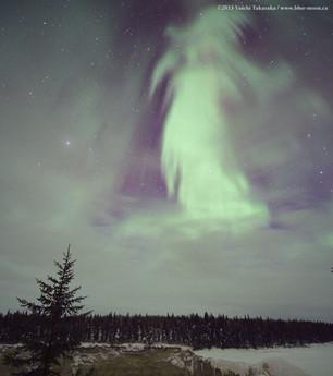 Ghost Aurora over Canada
