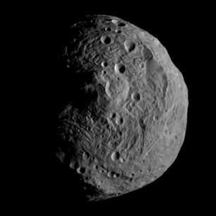 Астероид Веста пройдет мимо Земли на минимальном расстоянии
