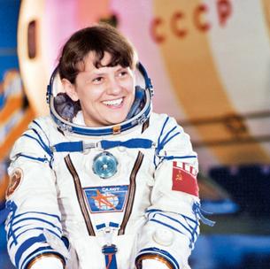Светлана Савицкая - первая женщина, вышедшая в открытый космос