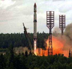 """Запуск космического аппарата """"Коронас-Ф"""" для исследования Солнца"""