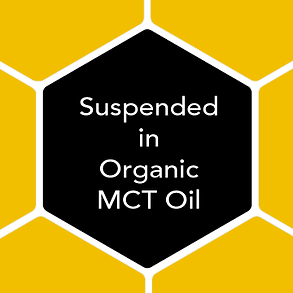 Our extracts are suspended in Organic MCT oil, as fat helps CBD bypass breakdow in the liver, lasting longer to reach other areas in need.