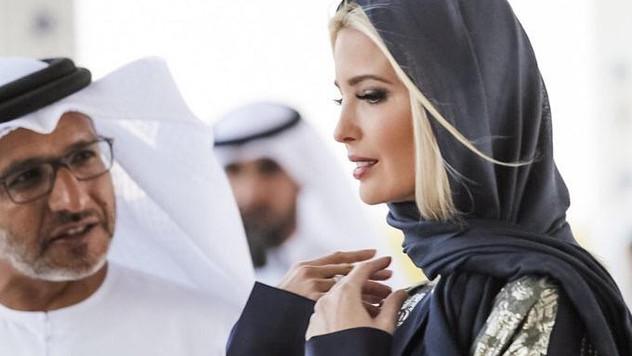 ايفانكا ترامب ترتدي الحجاب !🧕🏻😱