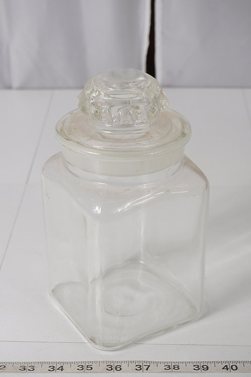 Apothecary Jar/ Canister With Lid