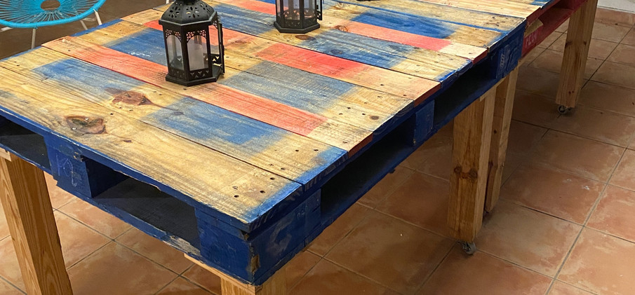 Pallet Patio Tables