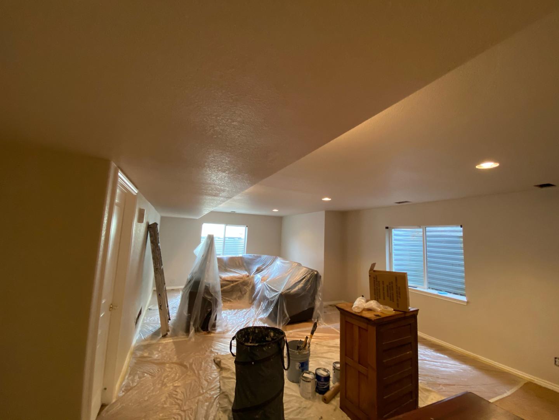 Interior walls-color change.