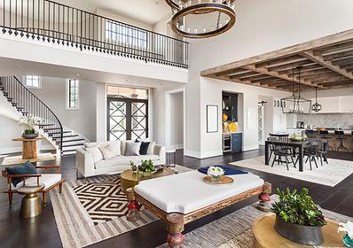 Stunning Panorama of Luxury Home Interio
