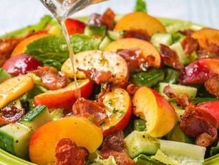 Homemade Dressing + Summer Salad