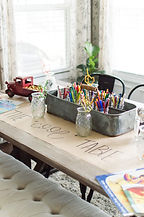 Thanksgiving Kids Table Ideas _ A Hostin