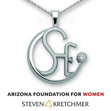 Arizona Foundation for Women -  SHE Counts!™ Pendant