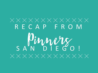 San Diego Pinners Conference Recap