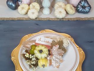 DIY Fall Table Settings