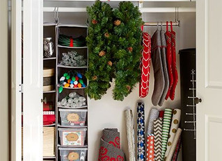 Christmas Decor Storage Solutions