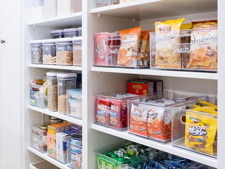 Summer Pantry Organization