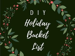 Holiday Bucket List