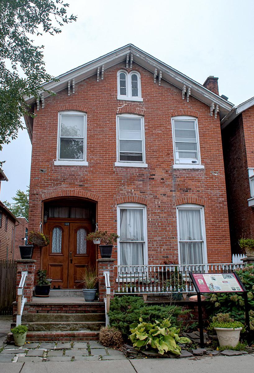Frances Cleveland Birth Home