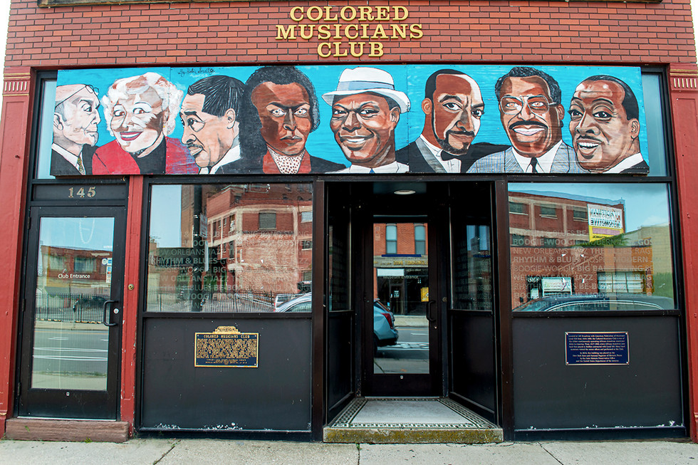 The Colored Musicians Club of Buffalo