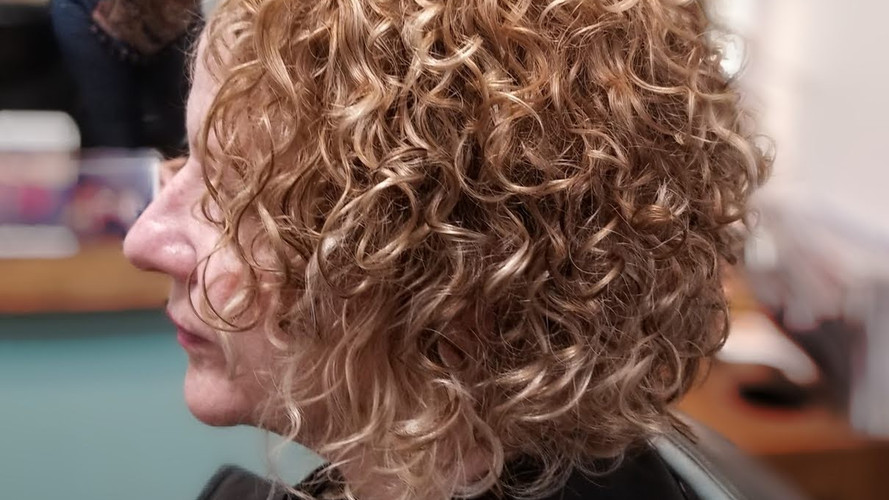 Grey Coverage Curly