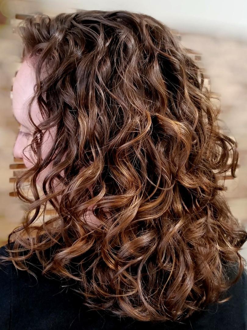 Dark Brown Curls