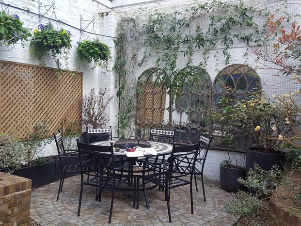 Taryn Ferris Garden Design - Planting Design Before Photograph - City Road Courtyard Garden