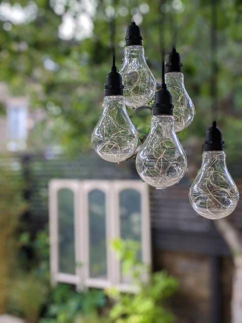 Taryn Ferris Garden Design - Detail- Exterior Pendant Lights - De Beauvoir Town