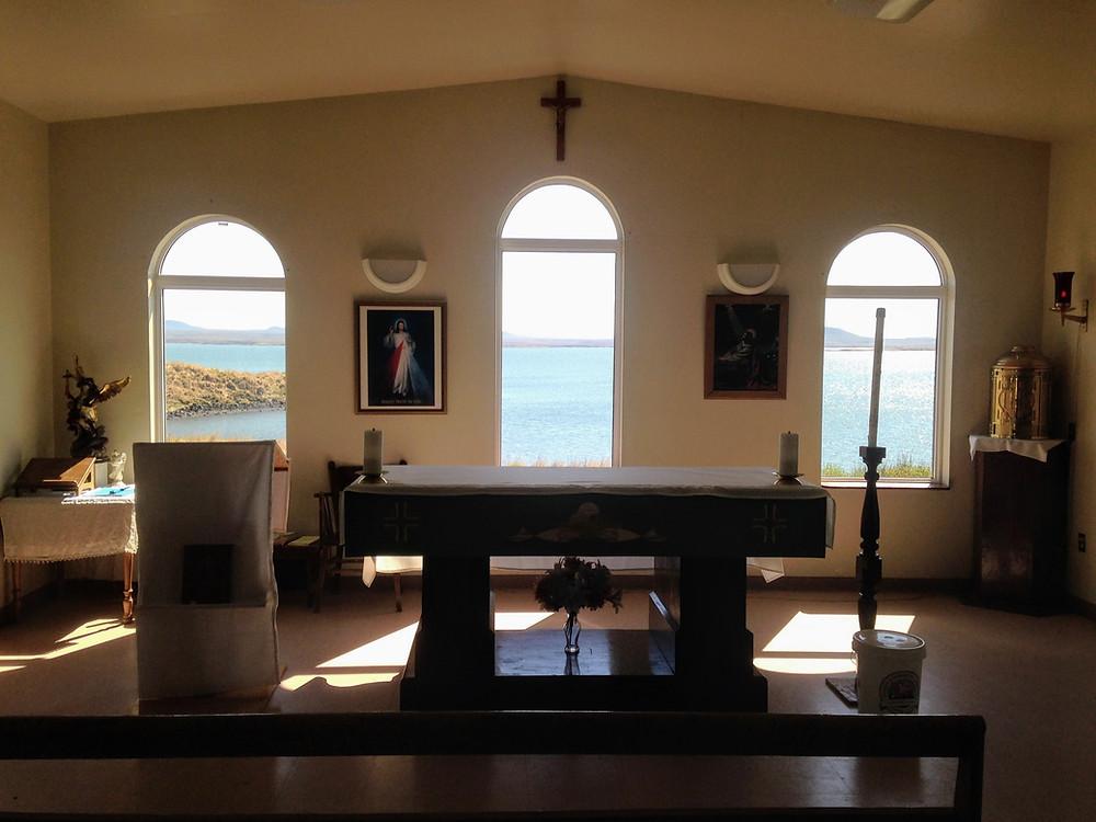 chapel in St. Michael, Alaska