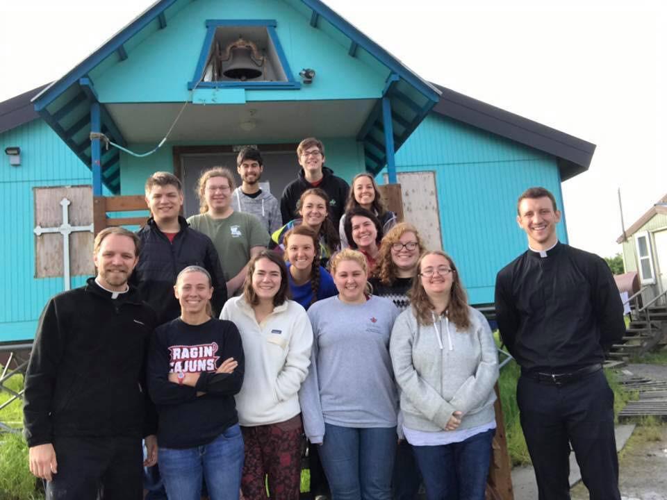 missionaries from 2017 in Alakanuk, Alaska