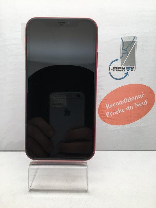 iPhone 11 rouge 64 Go (913)
