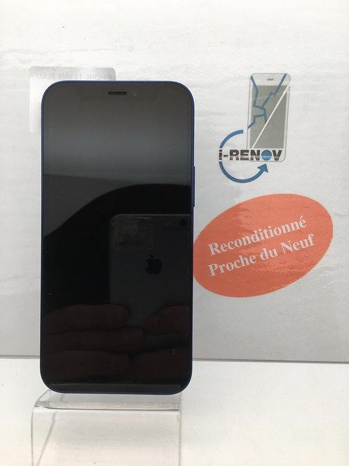 iPhone 12 Mini Bleu 64 Go (380)