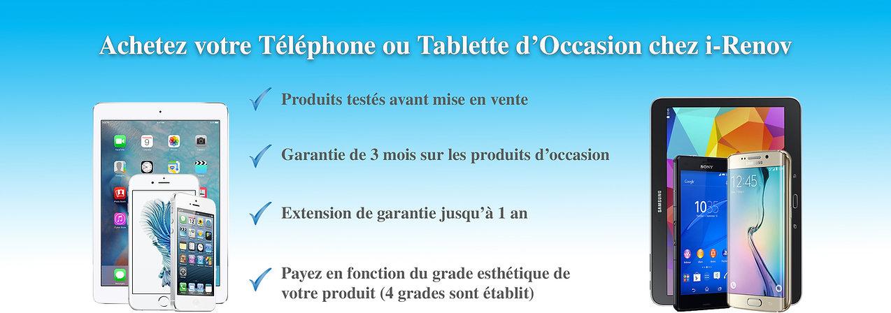Achat telephone iPhone mobile reconditionné occasion Raon-l'Etape Saint-dié