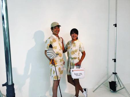 Tee-chi2020スタジオスチール撮影