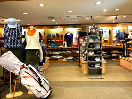 琉球ゴルフ倶楽部Pro shop Tee-chiコーナー