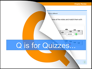 Q is for Quizzes.._