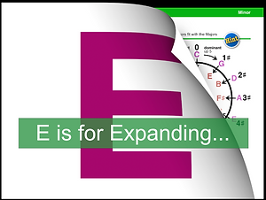 E is for Expanding....