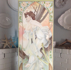 Mucha for Mama | commissioned