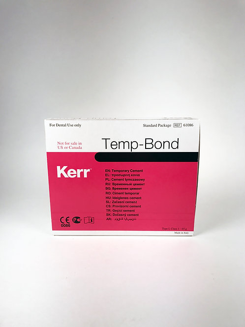 Temp-Bond Temporary Dental Cement