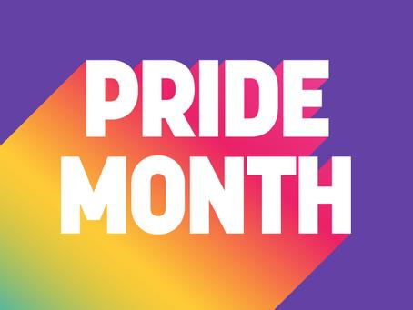 Pride Month : Juin, mois des fiertés