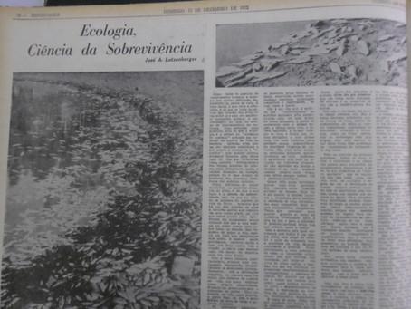Ecologia, Ciência da Sobrevivência