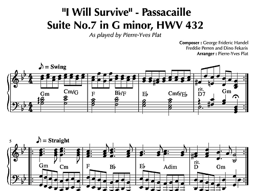 I WILL SURVIVE - PASSACAILLE