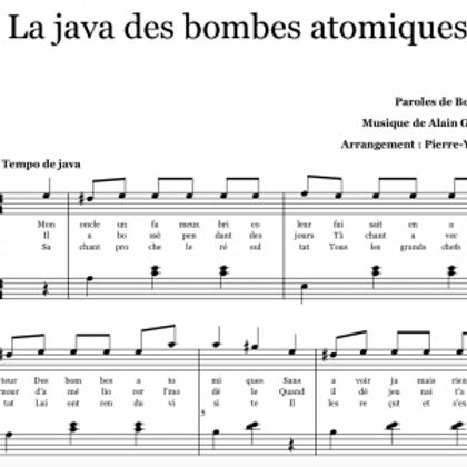 LA JAVA DES BOMBES ATOMIQUES