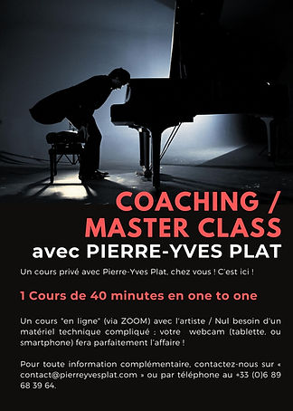 1 COURS - PIERRE-YVES PLAT MASTER CLASS.
