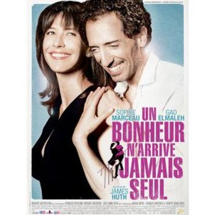 DVD UN BONHEUR N'ARRIVE JAMAIS SEUL