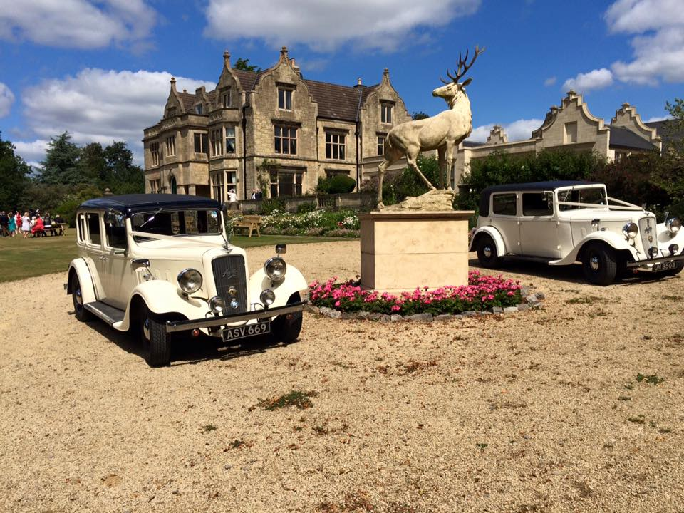 Old down manor wedding cars