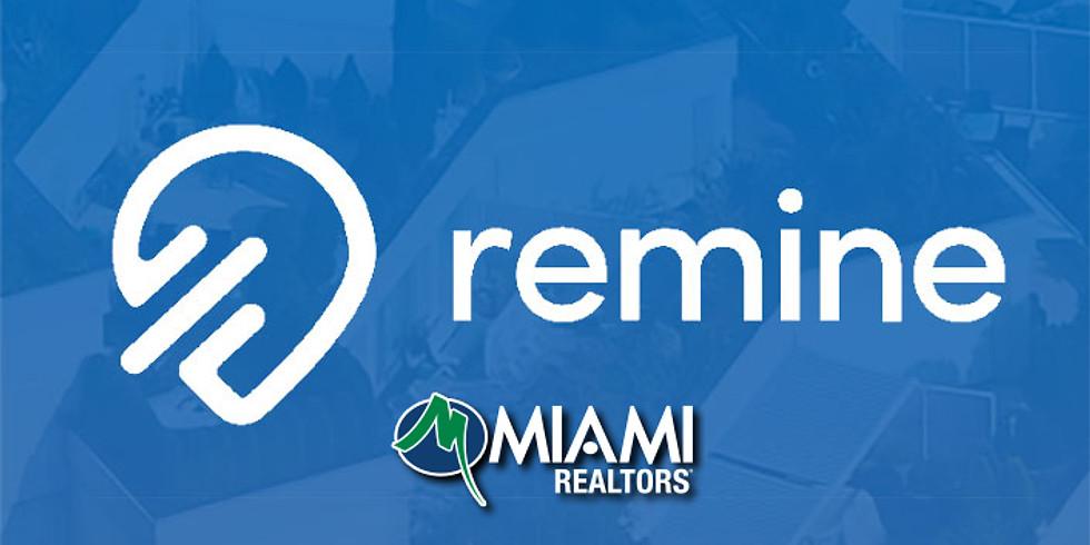 Broker's LLC: Remine Pro - Español - Via Zoom
