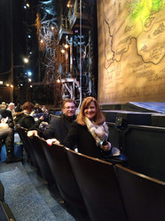 Angie and Sam catch Wicked in NYC after client meetings in the area.