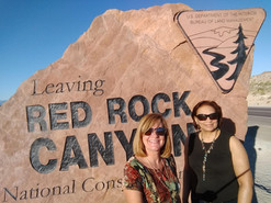 National SHRM 2019, Las Vegas, NV.  Angie and Katherine explore the beauty of the desert.