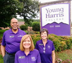 Young Harris College Freshman Orientation - Our team.
