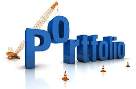 Image of the word Portfolio